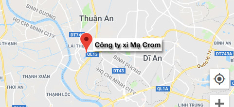 cong ty xi ma crom - dia chi